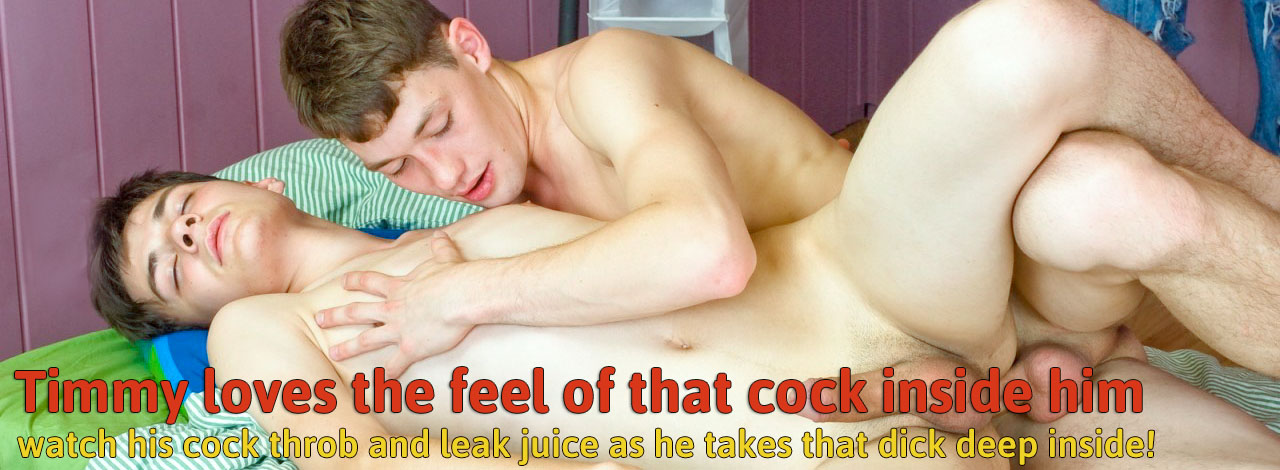 He loves the feel cock inside him!